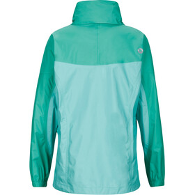 Marmot Girls PreCip Jacket Celtic/Turf Green